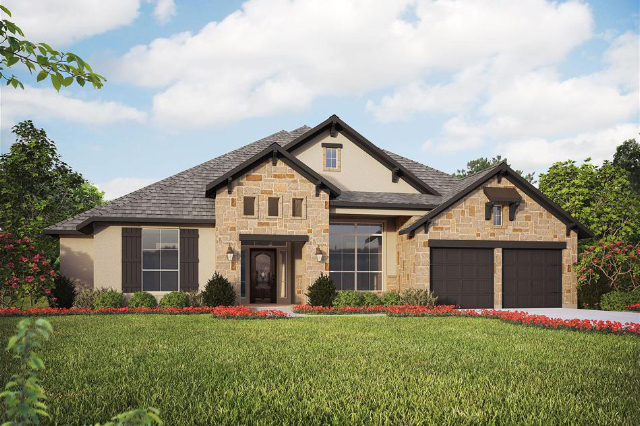 Design 3435 by Perry Homes