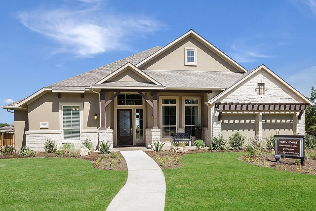 Perry Homes' model 3435S in Rancho Sienna