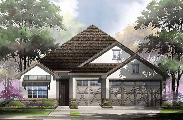 The Sonora by Sitterle Homes is Sitterle's largest home plan offering within Rancho Sienna.