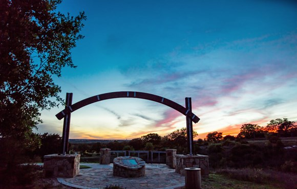 Rancho Sienna Trailhead at Sunset