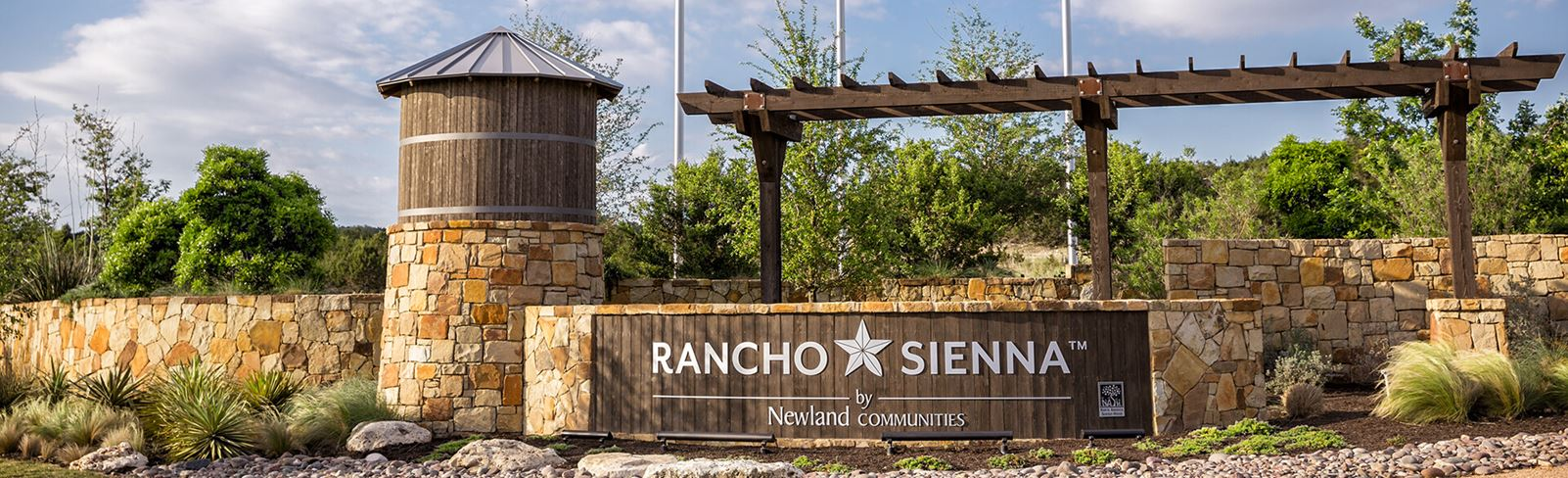 Rancho Sienna entrance sign
