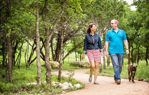 Rancho Sienna Discovery Loop couple on trail
