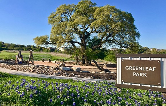 Rancho Sienna Greenleaf Park Entrance Sign