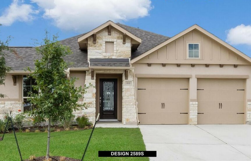 Rancho Sienna Perry homes representative image