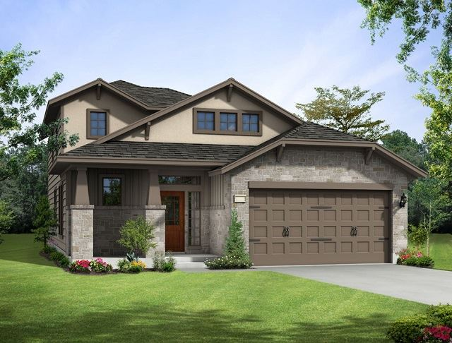 Model Homes Near Austin Rancho Sienna Georgetown Tx