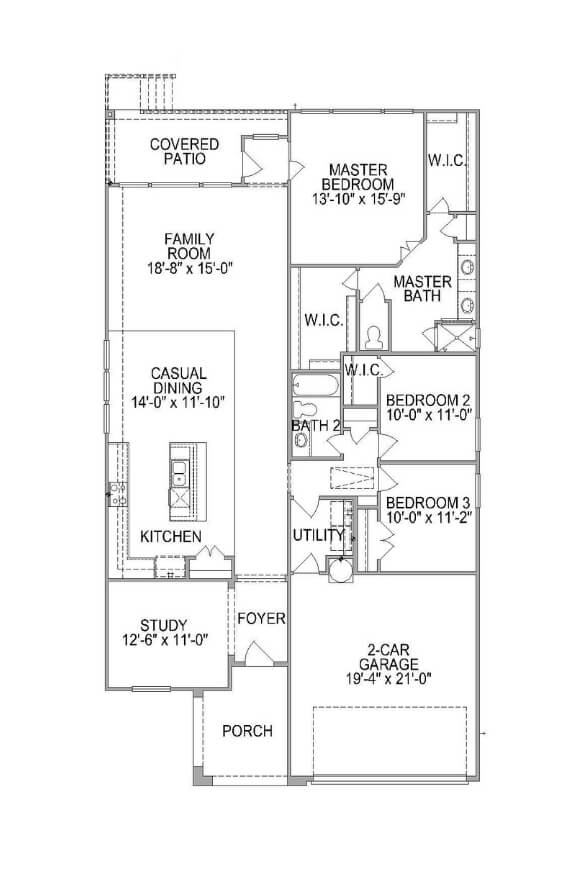 Plan 582F Floorplan