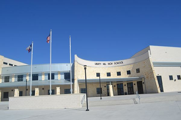 Rancho Sienna Liberty Hill High School Exterior