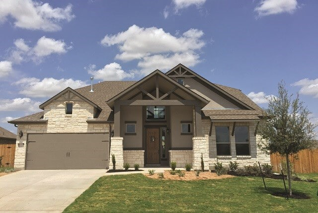 Benefit Home Completed for Ranch Sienna Georgetown, TX