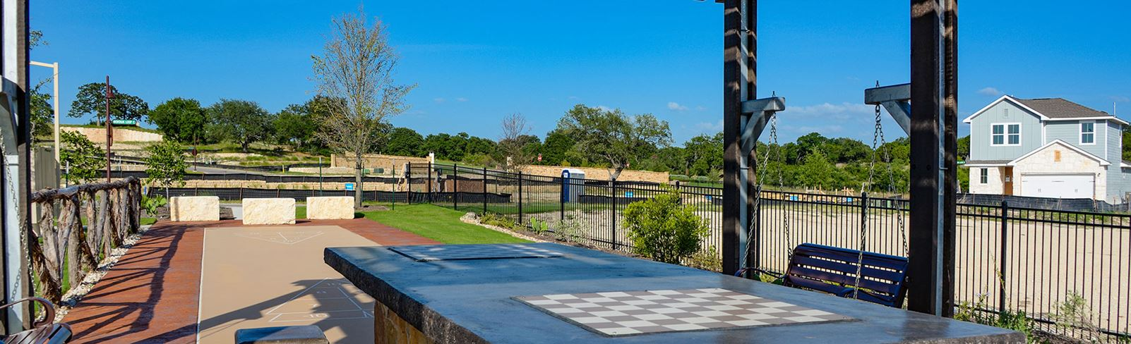 Rancho Sienna community Checkmate Park | Georgetown, TX